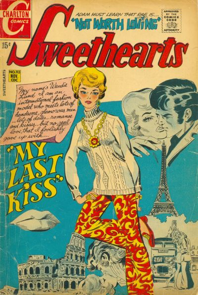 Cover for Sweethearts (Charlton, 1954 series) #113