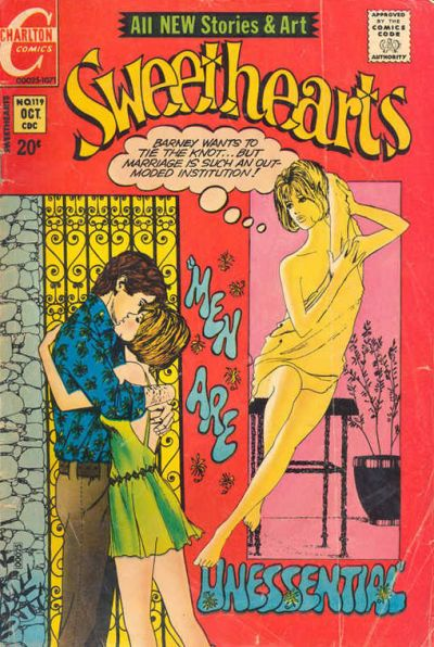 Cover for Sweethearts (Charlton, 1954 series) #119