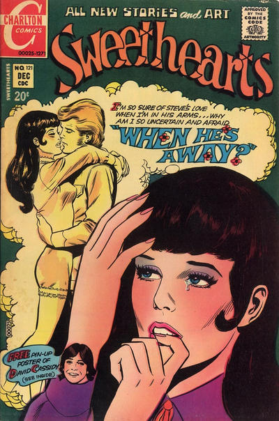 Cover for Sweethearts (Charlton, 1954 series) #121