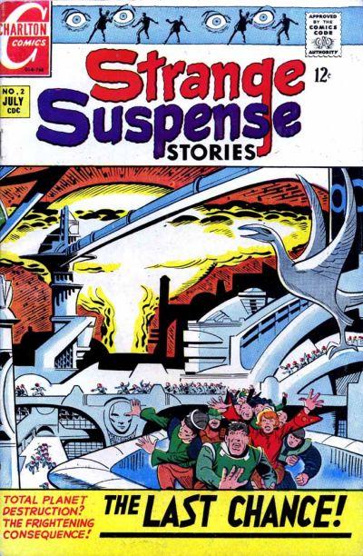 Cover for Strange Suspense Stories (Charlton, 1967 series) #2