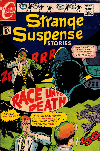 Cover for Strange Suspense Stories (Charlton, 1967 series) #4
