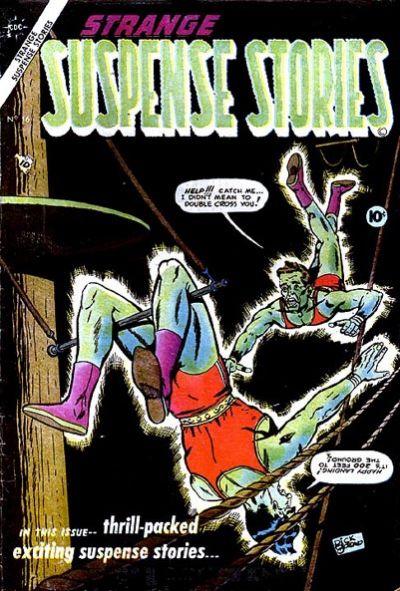 Cover for Strange Suspense Stories (Charlton, 1954 series) #16
