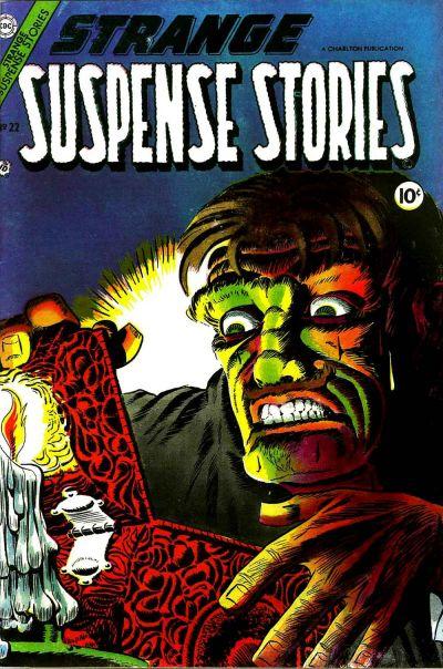 Cover for Strange Suspense Stories (Charlton, 1954 series) #22