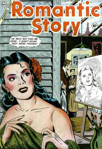 Cover for Romantic Story (Charlton, 1954 series) #25