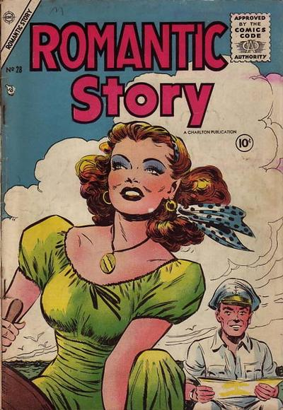 Cover for Romantic Story (Charlton, 1954 series) #28