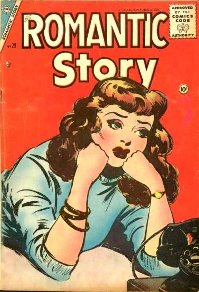 Cover for Romantic Story (Charlton, 1954 series) #29