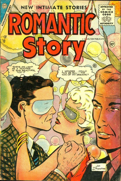 Cover for Romantic Story (Charlton, 1954 series) #30