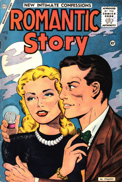 Cover for Romantic Story (Charlton, 1954 series) #31