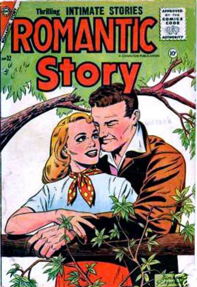 Cover for Romantic Story (Charlton, 1954 series) #32