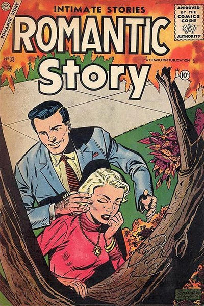 Cover for Romantic Story (Charlton, 1954 series) #33