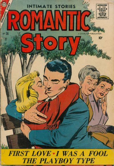 Cover for Romantic Story (Charlton, 1954 series) #36
