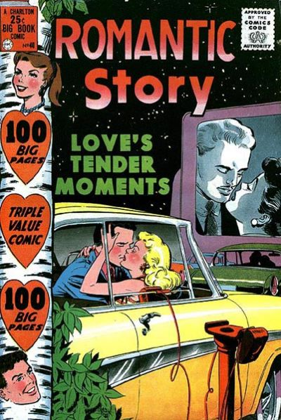 Cover for Romantic Story (Charlton, 1954 series) #40