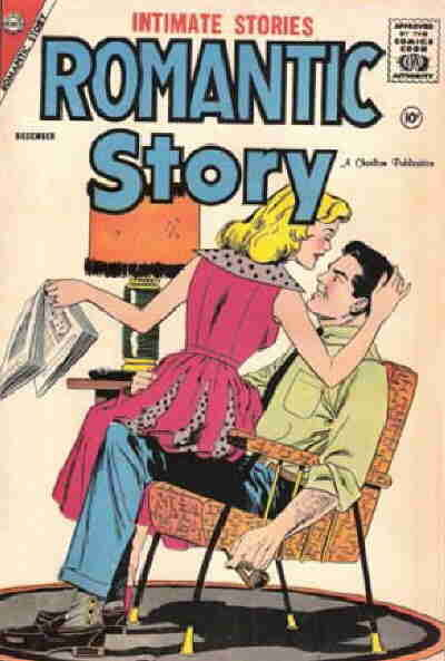 Cover for Romantic Story (Charlton, 1954 series) #41