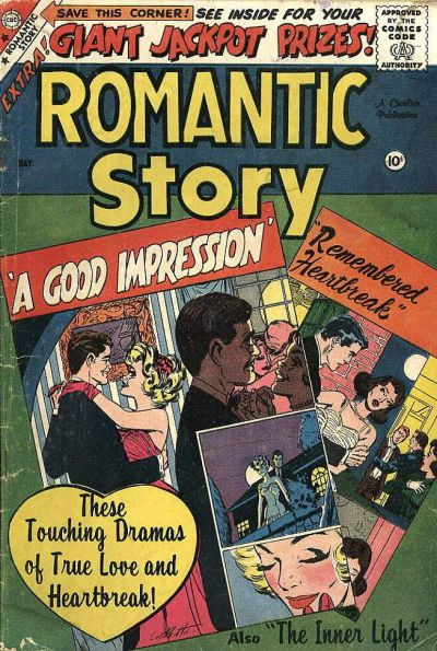 Cover for Romantic Story (Charlton, 1954 series) #43