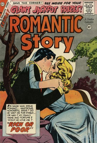 Cover for Romantic Story (Charlton, 1954 series) #44
