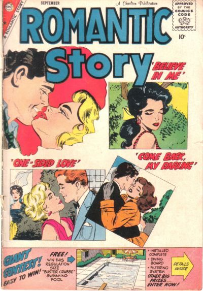 Cover for Romantic Story (Charlton, 1954 series) #45