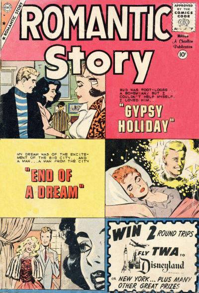 Cover for Romantic Story (Charlton, 1954 series) #48