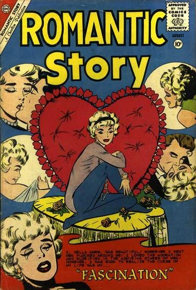 Cover for Romantic Story (Charlton, 1954 series) #50