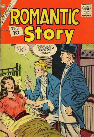Cover for Romantic Story (Charlton, 1954 series) #57