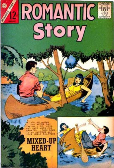 Cover for Romantic Story (Charlton, 1954 series) #64