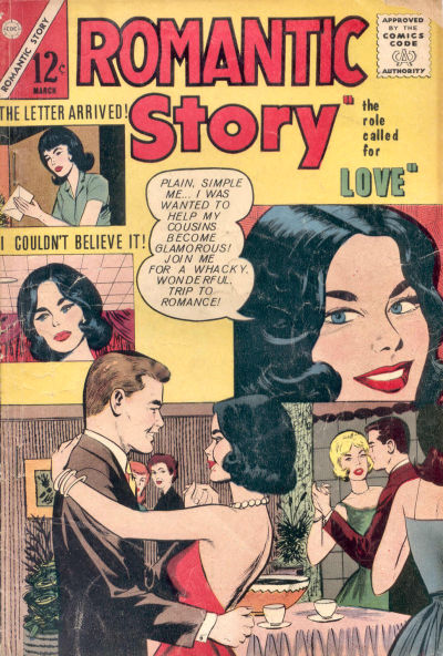Cover for Romantic Story (Charlton, 1954 series) #65