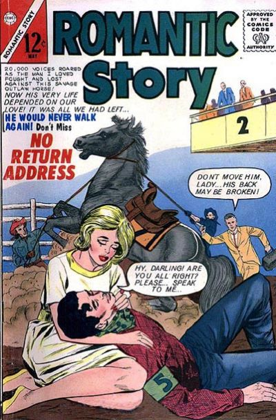 Cover for Romantic Story (Charlton, 1954 series) #66