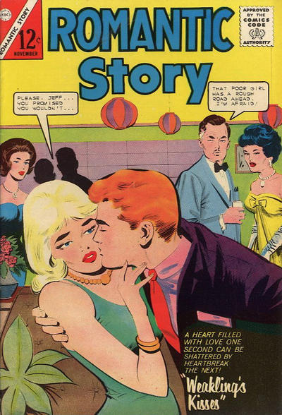 Cover for Romantic Story (Charlton, 1954 series) #69