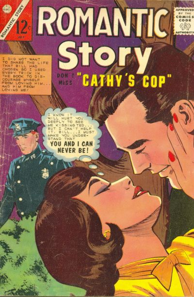 Cover for Romantic Story (Charlton, 1954 series) #77