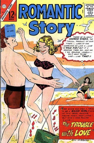 Cover for Romantic Story (Charlton, 1954 series) #81