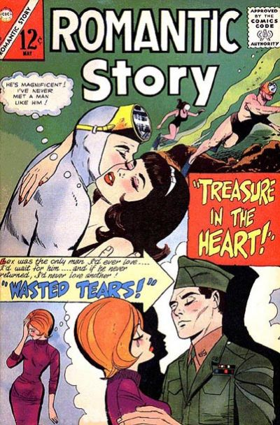Cover for Romantic Story (Charlton, 1954 series) #82