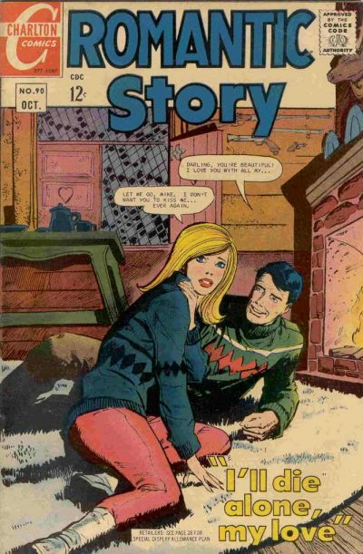 Cover for Romantic Story (Charlton, 1954 series) #90