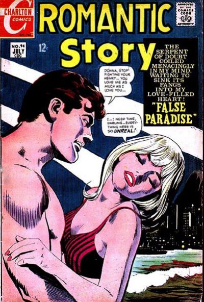 Cover for Romantic Story (Charlton, 1954 series) #94