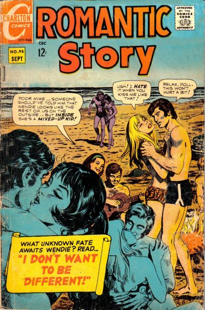 Cover for Romantic Story (Charlton, 1954 series) #95