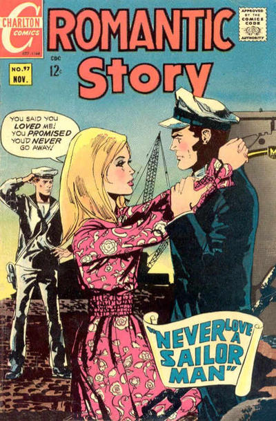 Cover for Romantic Story (Charlton, 1954 series) #97