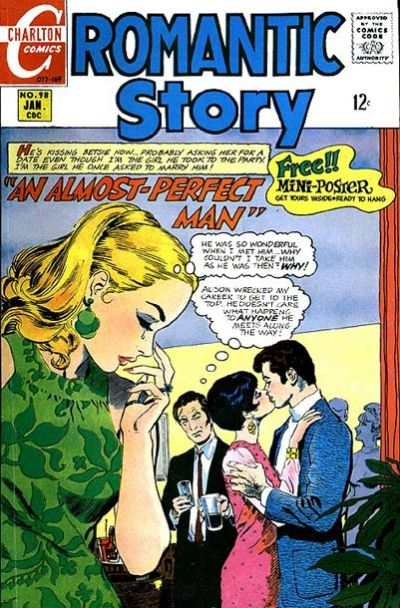 Cover for Romantic Story (Charlton, 1954 series) #98