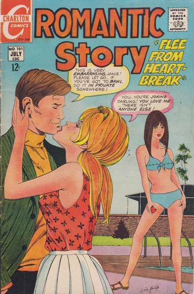 Cover for Romantic Story (Charlton, 1954 series) #101