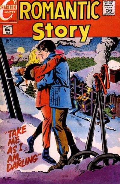Cover for Romantic Story (Charlton, 1954 series) #103
