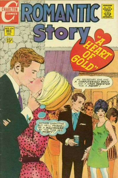 Cover for Romantic Story (Charlton, 1954 series) #104