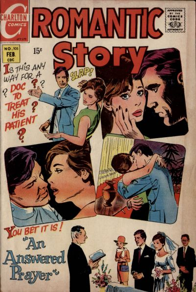 Cover for Romantic Story (Charlton, 1954 series) #105