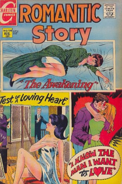 Cover for Romantic Story (Charlton, 1954 series) #108
