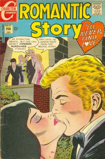 Cover for Romantic Story (Charlton, 1954 series) #111