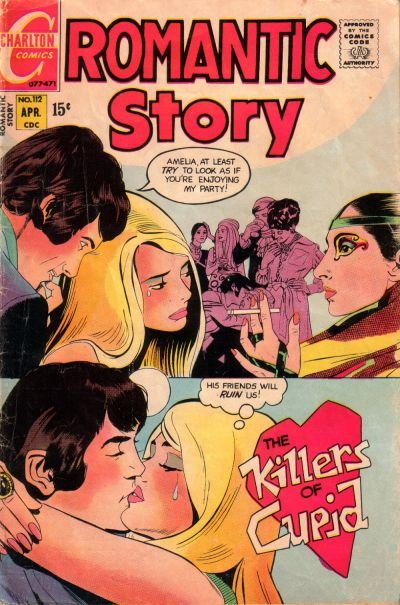 Cover for Romantic Story (Charlton, 1954 series) #112
