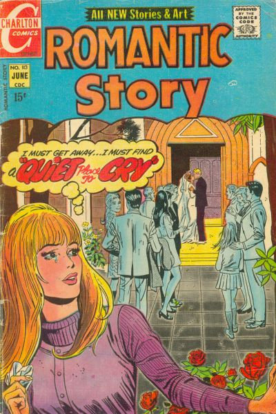 Cover for Romantic Story (Charlton, 1954 series) #113
