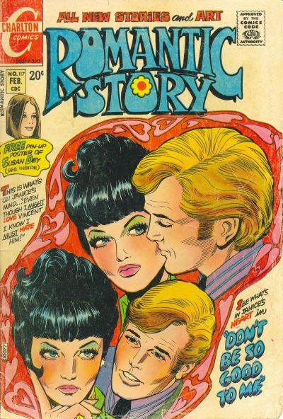 Cover for Romantic Story (Charlton, 1954 series) #117