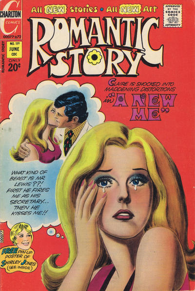 Cover for Romantic Story (Charlton, 1954 series) #119