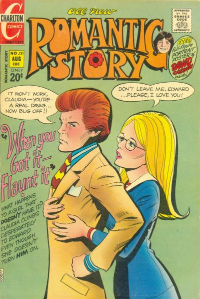 Cover for Romantic Story (Charlton, 1954 series) #121