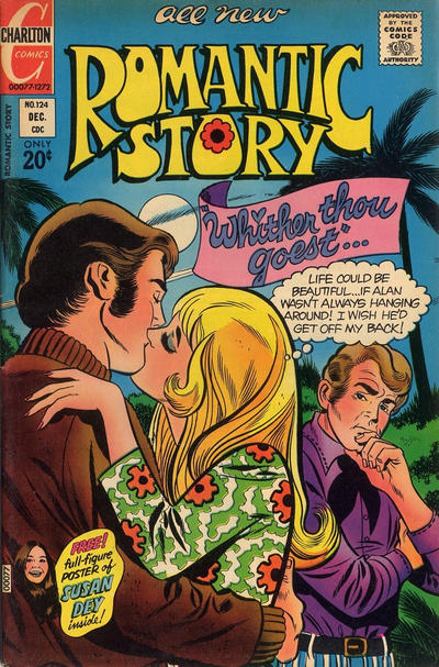 Cover for Romantic Story (Charlton, 1954 series) #124
