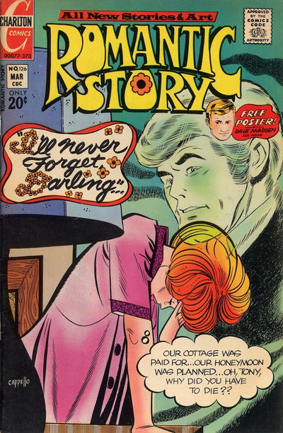 Cover for Romantic Story (Charlton, 1954 series) #126