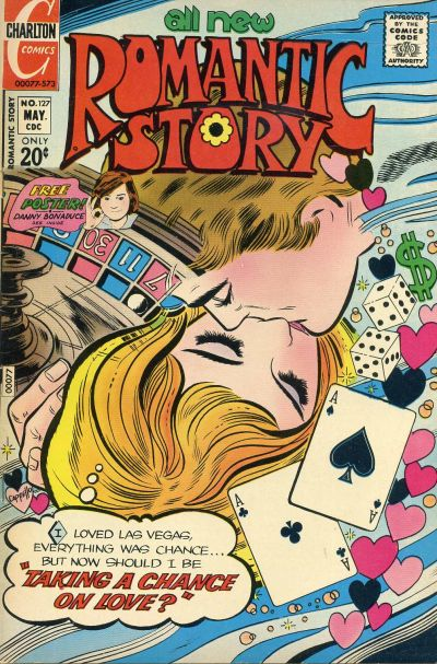 Cover for Romantic Story (Charlton, 1954 series) #127