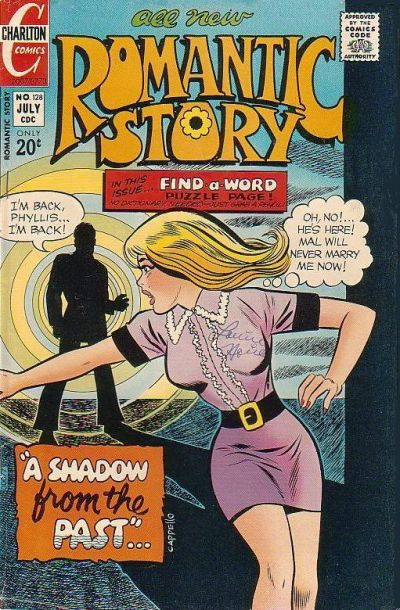 Cover for Romantic Story (Charlton, 1954 series) #128